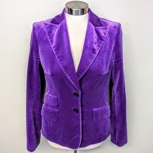 Cortefiel Vintage Velvet Blazer